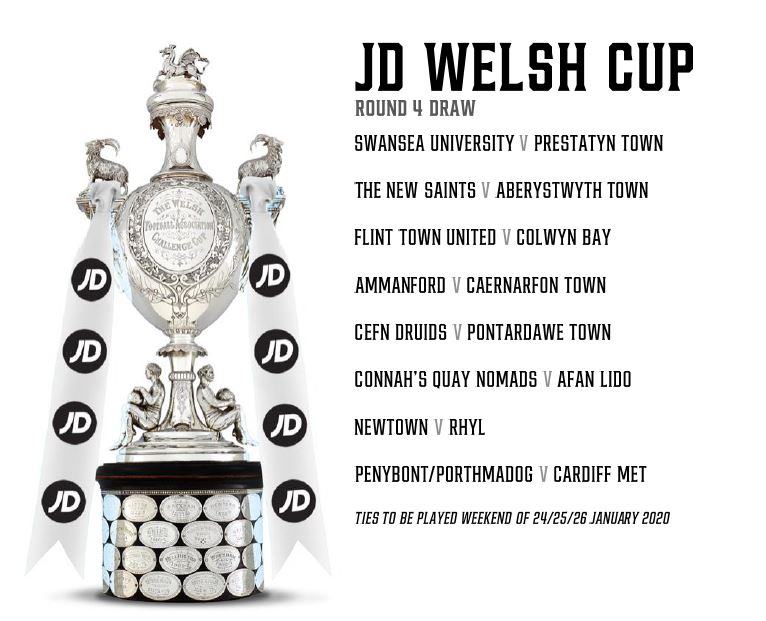 JD Welsh Cup Round 4 Draw