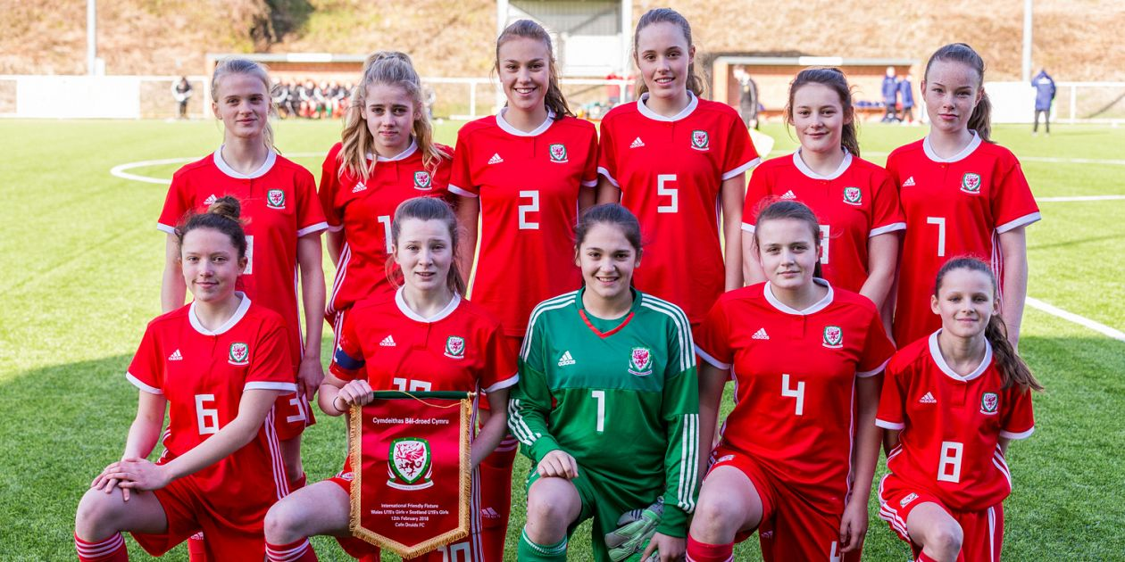 Wales U15 Girls lose against Scotland