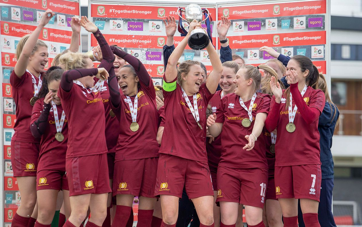 Schupbach double seals domestic treble for Cardiff Met