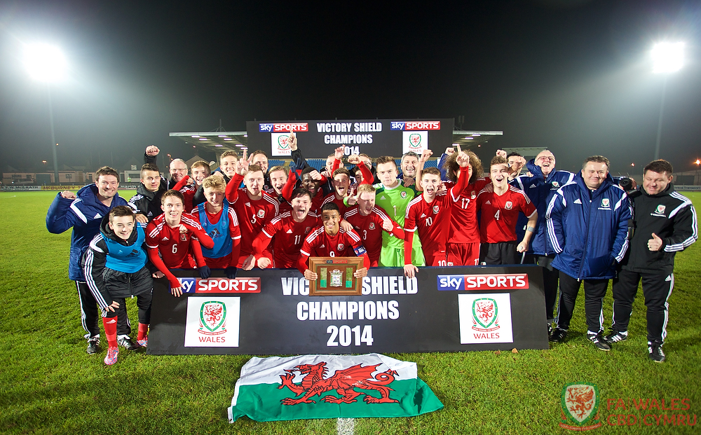 Wales beat N. Ireland to be crowned 2014 Victory Shield Champions